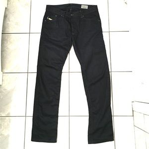 Diesel Darron Men's Black Slim Tapered Jeans